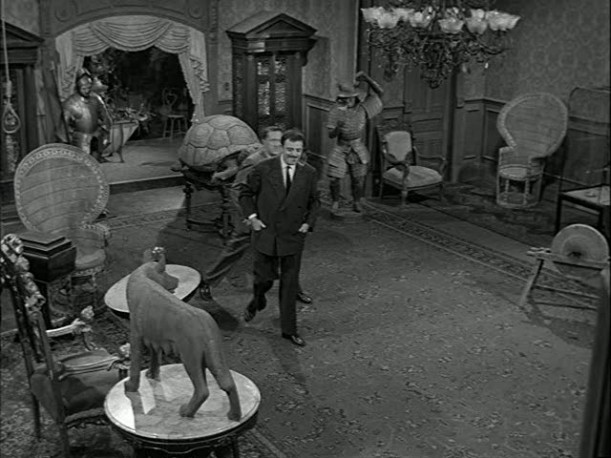 the addams family vs the munsters where would you live On the addams family living room