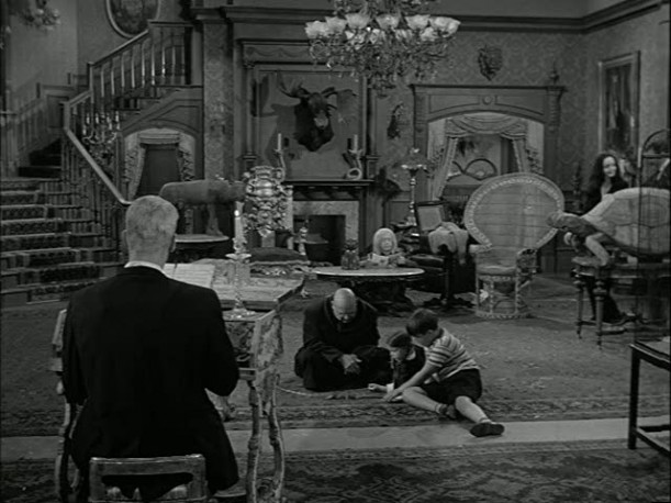 Munsters House Interior The addams family living room