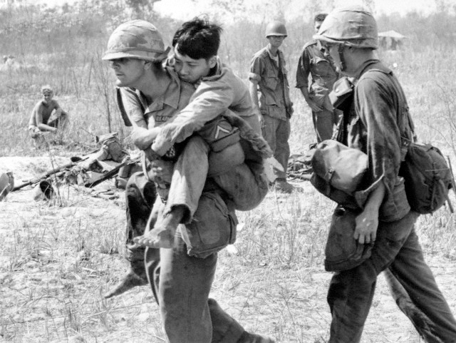 usas involvement in the vietnam war What americans call the vietnam war was the second of three wars in indochina during the cold war, in which the united states, the soviet union and the people's republic of china intervened in shifting patterns of enmity and alliance.